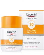 Eucerin Eucerin Sun Sensitive Protect mattító napozó fluid SPF30  50ml